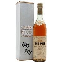 Hine 1952 Cognac / Silver Jubilee / Bot.1977