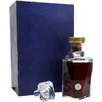 Martell Cordon Argent Cognac / Baccarat Decanter / Bot.1960s