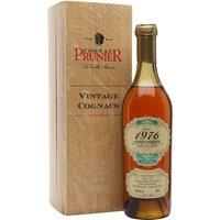 Prunier 1976 Grande Champagne Cognac