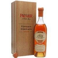 Prunier 1978 Grande Champagne Cognac
