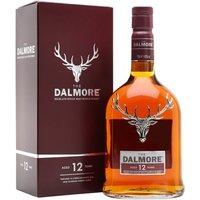 Dalmore 12 Year Old Highland Single Malt Scotch Whisky