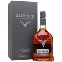 70cl / 45% / Distillery Bottling - One of three entries in Dalmore's Port Vintages Collection, this was distilled in 1996, aged for 17 years in bourbon barrels and then finished for the final three years in port pipes from Graham's. This is sweet and fruity with notes of plum, passion fruit, caramelised pineapple and marzipan.
