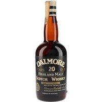 Dalmore 20 Year Old / Bot.1960s Highland Single Malt Whisky