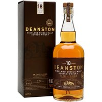 70cl / 46.3% / Distillery Bottling - The second batch of Deanston 18 Year Old � finished in first-fill bourbon barrels. This is typical of the Highland distillery's signature profile, sweet with hints of spice.
