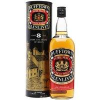 Dufftown-Glenlivet 8 Year Old / Bot.1970s / Duty Free Speyside Whisky