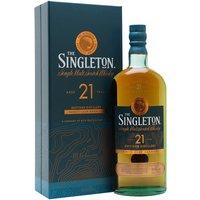 Singleton of Dufftown 21 Year Old Speyside Single Malt Scotch Whisky