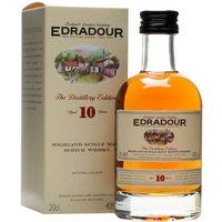 Edradour 10 Year Old / Small Bottle Highland Single Malt Scotch Whisky