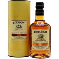 70cl / 51.4% / Distillery Bottling - This 22-year-old Edradour was distilled in 1993 and has spent the final period of maturation in barrels that used to contain Sauternes, the renowned sweet wine from Bordeaux.