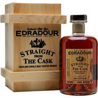 50cl / 59% / Distillery Bottling - A full-term sherry-matured whisky from Edradour, aged for 10 years in a butt. Distilled on 17 November 2006 and bottled on 15 December 2016, this displays the classic notes of dried fruit and chocolate orange.