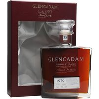 70cl / 54.8% / Distillery Bottling - A 1979-vintage whisky from increasingly well known east-coast Highlander Glencadam. A single cask bottled at 35 years old and presented in a rather stylish decanter.