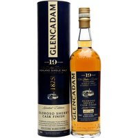 Glencadam 19 Year Old Oloroso Sherry Finish Highland Whisky