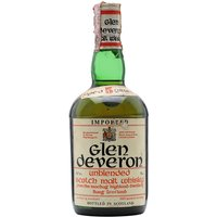 75cl / 43% / Distillery Bottling - An old 1960s bottling of 5 year old Glen Deveron, distilled by the folks at Macduff.