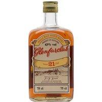 Glenfarclas 21 Year Old / Bot.1970s Speyside Single Malt Scotch Whisky