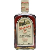 75cl / 43% / Distillery Bottling - An old rectangular bottling of Glenfarclas 25 year old � an all-time classic. We estimate this bottle dates from the 1980s.