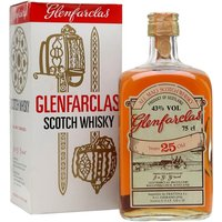 75cl / 43% / Distillery Bottling - A rather rare bottling of Glenfarclas 25 Year Old, which we would estimate to have been produced in the 1970s.