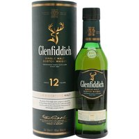 35cl / 40% / Distillery Bottling - A half bottle of Glenfiddich's flagship 12 year old whisky - as of 2011 the largest selling single malt whisky in the world.