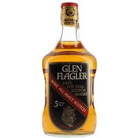 Glen Flagler 5 Year Old / Bot.1980s / Large bottle Lowland Whisky