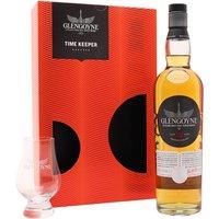 Glengoyne 12 Year Old / Time Keeper Gift Set Highland Whisky