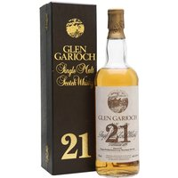 75cl / 43% / Distillery Bottling - An old release of Glen Garioch 21 year old. We estimate that this was bottled some time in the 1980s.