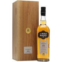 Glenglassaugh 1973 / 40 Year Old / The Malt Whisky Co Highland Whisky