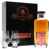 Glenglassaugh 1978 / 40 Year Old / Signatory 30th Anniversary Highland Whisky