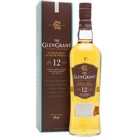 70cl / 43% / Distillery Bottling - Glen Grant 12 Year Old was added to the core range in 2016. The only release regularly seen in the UK was previously the 10 Year Old, so this is a welcome addition to the distillery's range. Light and fruity with notes of apple pie, caramel, vanilla and subtle spice.