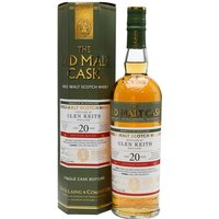 Glen Keith 1996 / 20 Year Old / Old Malt Cask Speyside Whisky
