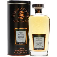 Glen Keith 1997 / 21 Year Old / Signatory Speyside Whisky