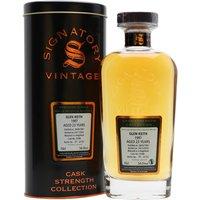 Glen Keith 1997 / 23 Year Old / Signatory Speyside Whisky