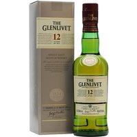 Glenlivet 12 Year Old / Half Bottle Speyside Single Malt Scotch Whisky