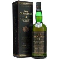 Glenlivet 15 Year Old / 1L Speyside Single Malt Scotch Whisky
