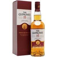 Glenlivet 15 Year Old / French Oak Reserve Speyside Whisky