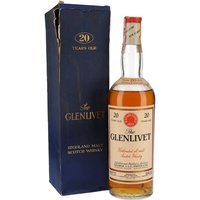 Glenlivet 20 Year Old / Bot.1960s Speyside Single Malt Scotch Whisky