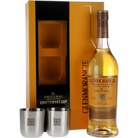 70cl / 40% / Distillery Bottling - A bottle of Glenmorangie's excellent 10 year old Original, perfect for giving as a gift. It comes in a great gift box, along with 2 branded whisky tumblers.