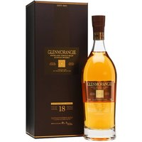70cl / 43% / Distillery Bottling - The 18 year old has always been one of the best of Glenmorangie's core range and its stylish packaging has ensured its popularity. Picked up the top prize in its category at the World Whisky Awards 2010.