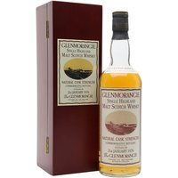 75cl / 59.2% / Distillery Bottling - A rare bottling of Glenmorangie using whisky distilled on 21st January 1976, the day of Concorde's first ever commercial flight.  Presented in an elegant wooden box, this is a hard to find whisky.