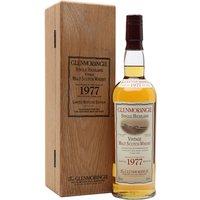 Glenmorangie 1977 / Bot.2003 Highland Single Malt Scotch Whisky