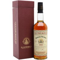 Glenmorangie 1988 / 15 Year Old / Madeira Matured Highland Whisky