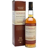 Glenmorangie 25 Year Old / Malaga Wood Highland Whisky