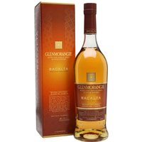 70cl / 46% / Distillery Bottling - Bacalta is the eight release in Glenmorangie's annual Private Edition series. Finished in casks which were seasoned with Malmsey Madeira, this is rich and fruity with notes of caramelised apricots, dates, almonds and honeycomb.