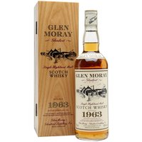 75cl / 43% / Distillery Bottling - A very special bottling of Glen Moray 1963, bottled at 26 years of age in 1990.