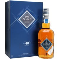 70cl / 52.7% / Distillery Bottling - The first official bottling of Cambus since at least the turn of the 20th century, this 40 year old was released as one of the headline bottles of the Diageo Special Releases 2016. Classic grain whisky notes are balanced by huge fruity character, giving one of the best grains we've tried in years.