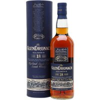 Glendronach 18 Year Old / Allardice / Sherry Cask Highland Whisky