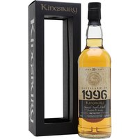 Glenrothes 1996 / 20 Year Old / Kingsbury Speyside Whisky