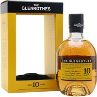 Glenrothes 10 Year Old Speyside Single Malt Scotch Whisky