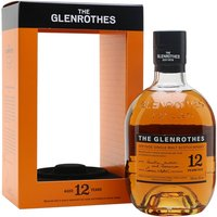 Glenrothes 12 Year Old Speyside Single Malt Scotch Whisky