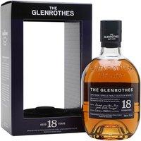 Glenrothes 18 Year Old Speyside Single Malt Scotch Whisky