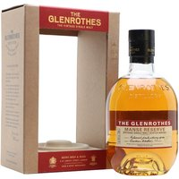 Glenrothes Manse Reserve Speyside Single Malt Scotch Whisky