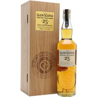 70cl / 48.8% / Distillery Bottling - Launched at the 2017 Campbeltown Malts Festival, Glen Scotia 25 Year Old was finished in first-fill bourbon casks for the final year. Fruity and coastal with notes of apples, oranges and vanilla.