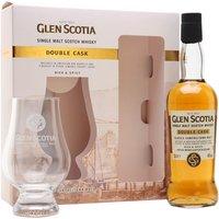 Glen Scotia Double Cask / Small Bottle / Glass Set Campbeltown Whisky